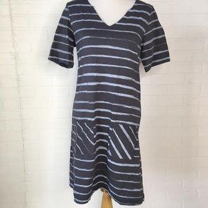 Fresh Produce striped dress M